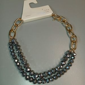 NWT  A NEW DAY  Beaded Necklace